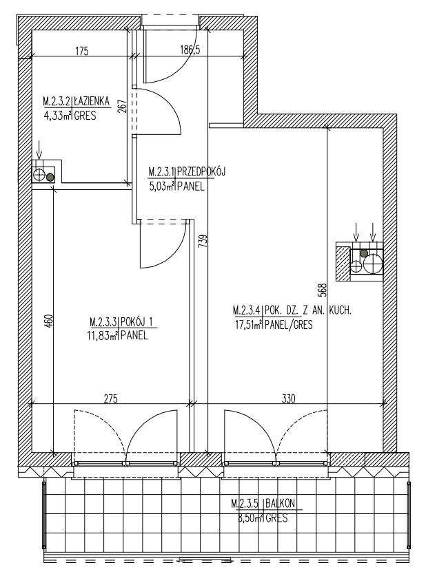 Plan mieszkania B6 10