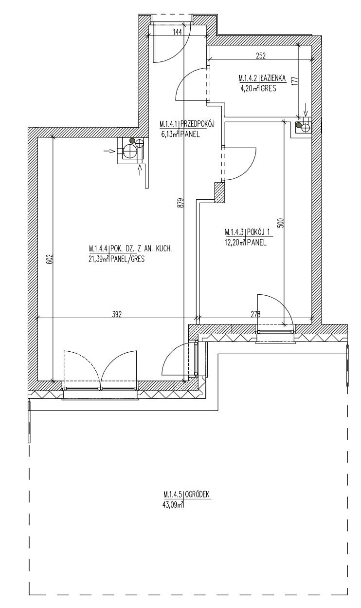 Plan mieszkania B6 04