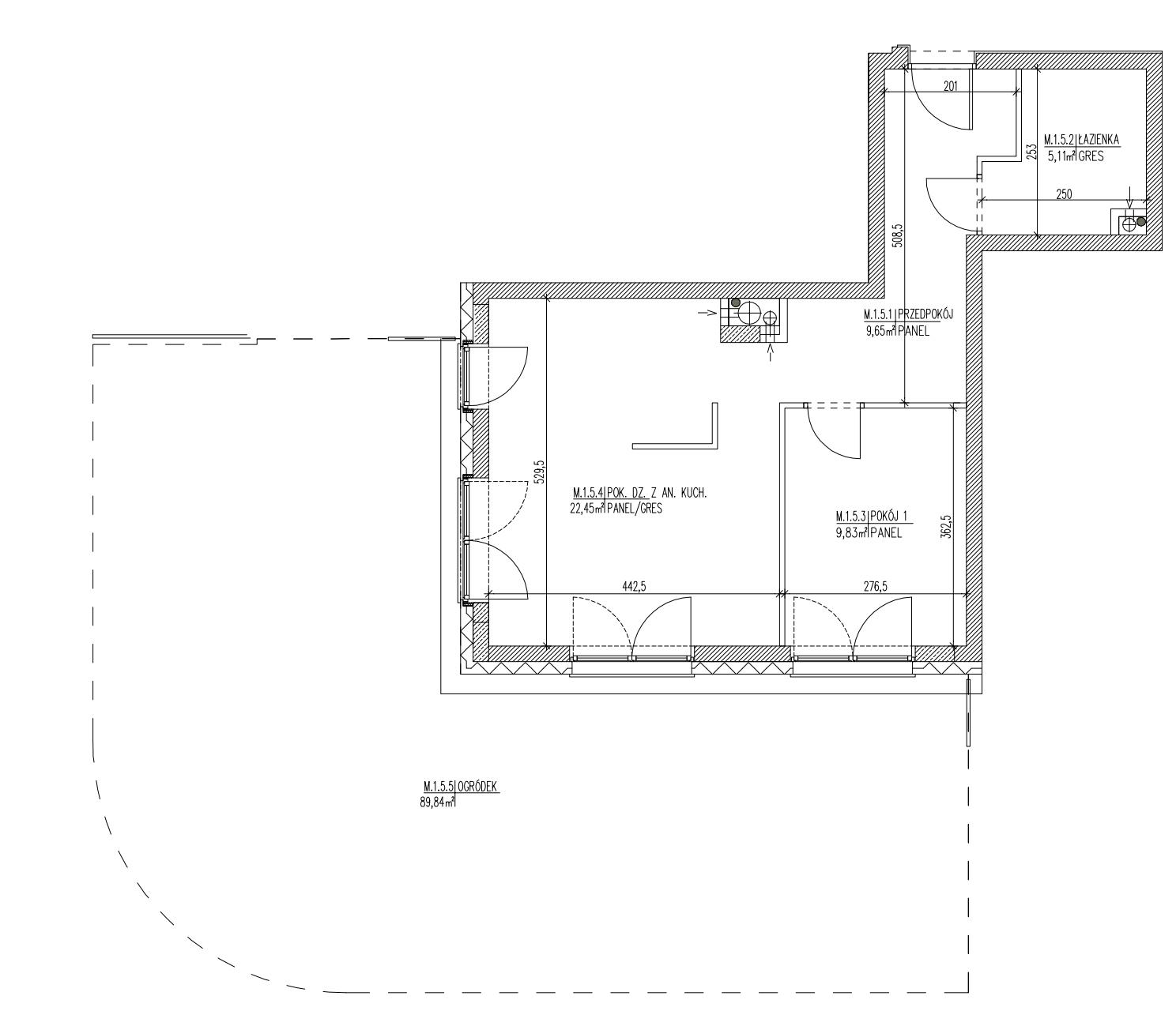 Plan mieszkania B6 05