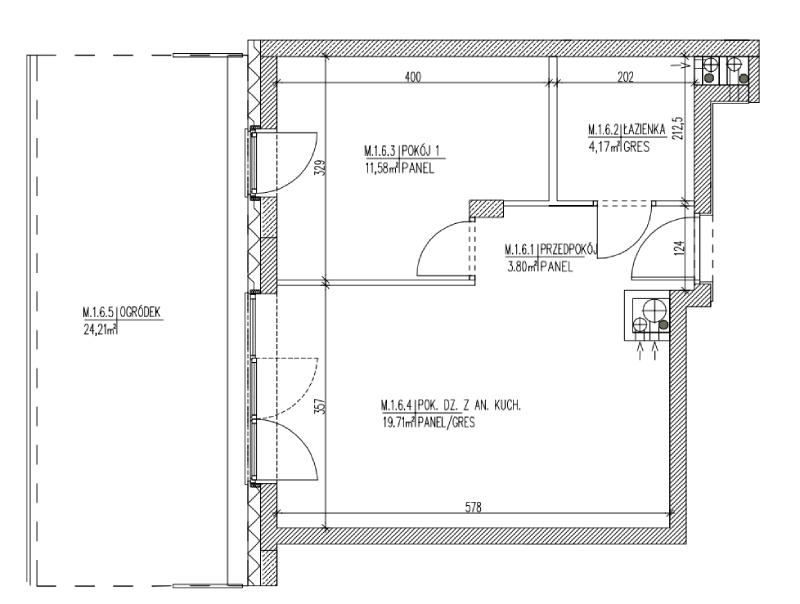 Plan mieszkania B6 06