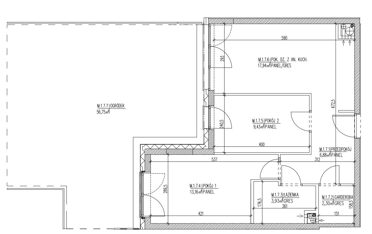 Plan mieszkania B6 07