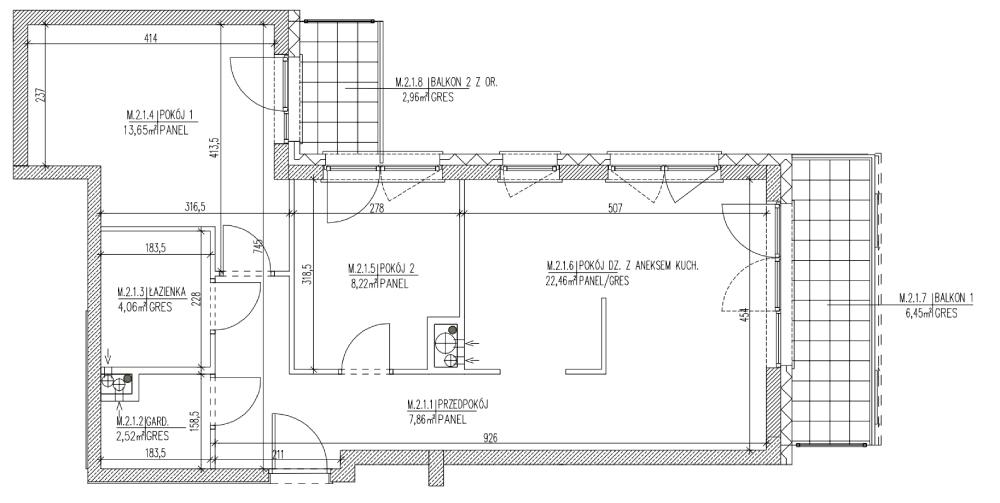 Plan mieszkania B6 08