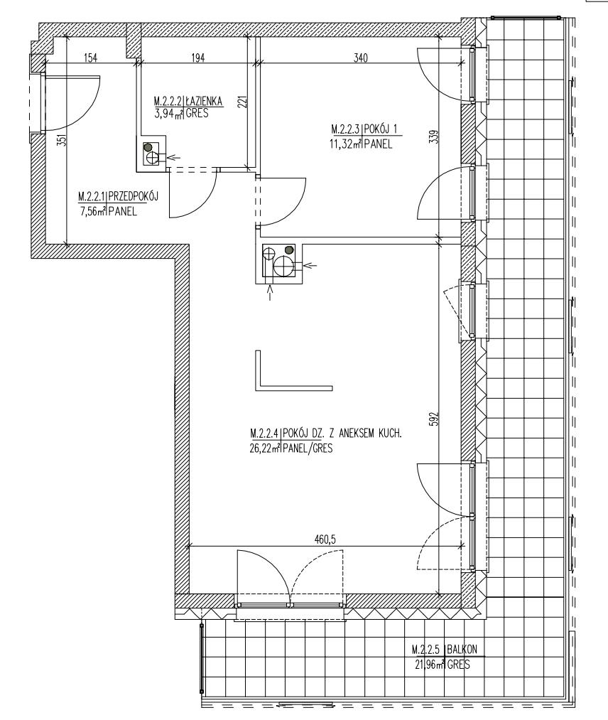 Plan mieszkania B6 09