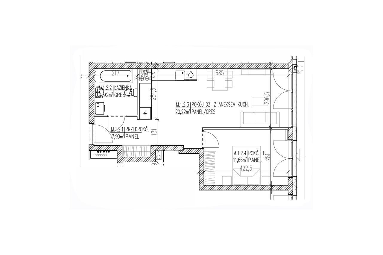 Plan mieszkania B8 02