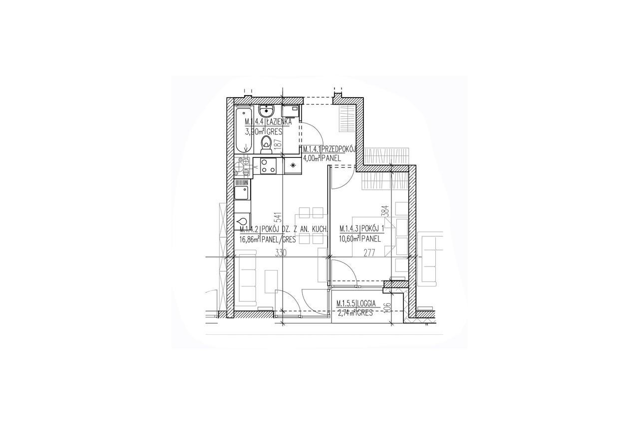Plan mieszkania B8 04