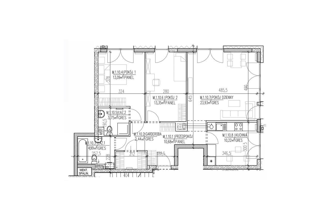 Plan mieszkania B8 10