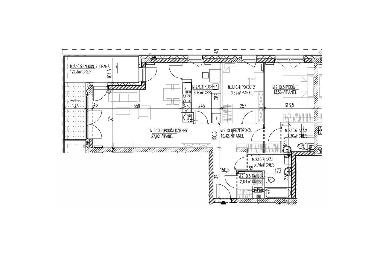 Plan mieszkania B8 20