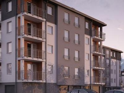 budynek 1a1 wizualizacja front budynku