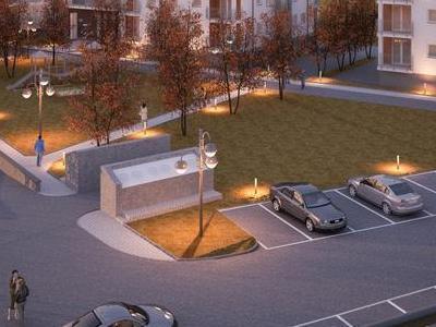 budynek 1a1 wizualizacja parking